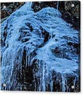 Ice Waterfall Acrylic Print
