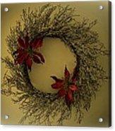 Ice Wreath Acrylic Print