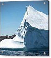 Ice Xviii Acrylic Print