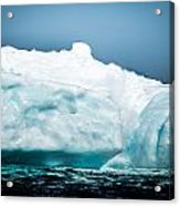 Ice Xxvii Acrylic Print by David Pinsent