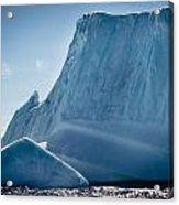 Ice Xxviii Acrylic Print by David Pinsent