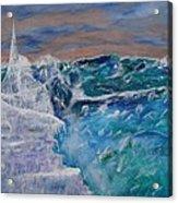 Iceberg Awaits The Titanic Acrylic Print