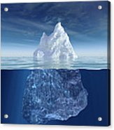 Iceberg Acrylic Print by Boon Mee
