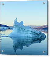 Iceberg In The Scoresby Sund Acrylic Print