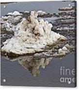 Iceberg Mini Acrylic Print by Tom Gari Gallery-Three-Photography