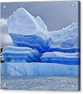 Iceberg Sculpture Acrylic Print