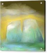 Icebergs Acrylic Print