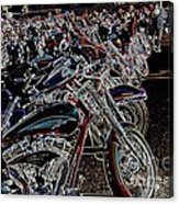 Iced Out Bikes Acrylic Print