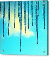 Iced Sky Acrylic Print