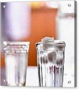 Iced Water Acrylic Print