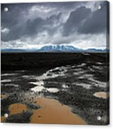 Iceland After The Rain Acrylic Print