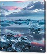 Iceland Daybreak Acrylic Print