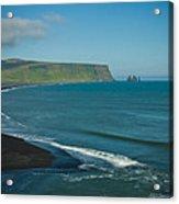 Icelandic Beach Acrylic Print