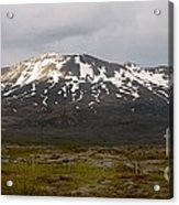 Icelandic Landscaope Acrylic Print