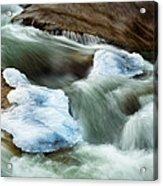 Icicle Creek Acrylic Print