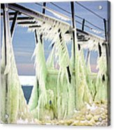 Icicles On The Catwalk Acrylic Print
