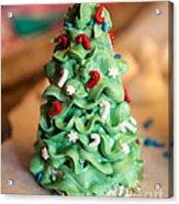 Icing Christmas Tree Acrylic Print