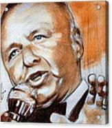 Icon Frank Sinatra Acrylic Print