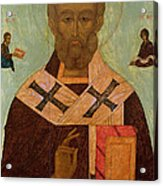 Icon Of St. Nicholas Acrylic Print