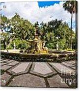 Iconic Fountain Acrylic Print