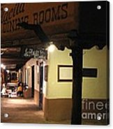 Iconic La Placita - Albuquerque  Acrylic Print