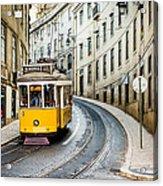 Iconic Lisbon Streetcar No. 28 IIi Acrylic Print