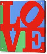 Iconic Love Acrylic Print