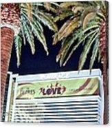 Iconic Vegas Acrylic Print