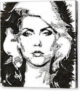 Icons - Blondie Acrylic Print