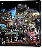 Icons Of History And Entertainment Acrylic Print by Ylli Haruni