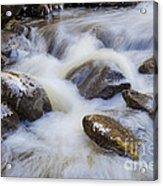 Icy December Brook Acrylic Print