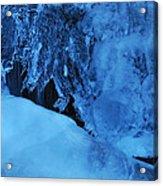 Icy Grimace Acrylic Print