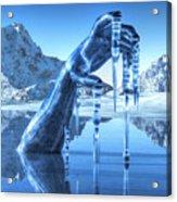 Icy Grip Acrylic Print