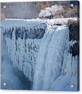Icy Niagara Falls Acrylic Print