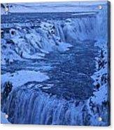 Icy River Acrylic Print