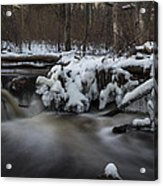 Icy Waters Acrylic Print by Andrew Pacheco