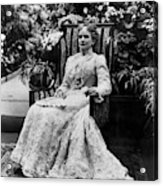 Ida Mckinley (1847-1907) Acrylic Print