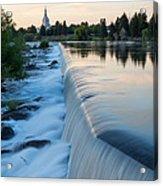 Idaho Falls Sunset Acrylic Print