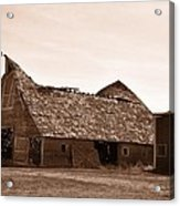 Idaho Falls - Vintage Barn Acrylic Print