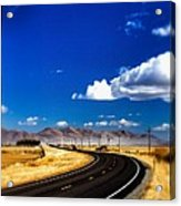 Idaho Road Titl Shift Acrylic Print