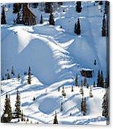 Idarado In The Winter Acrylic Print