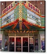 Ideal Theater In Clare Michigan Acrylic Print