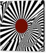 Ideology W/ Red Acrylic Print