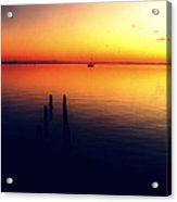 Indian River Sunrise Acrylic Print