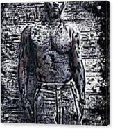 Idris Elba Acrylic Print