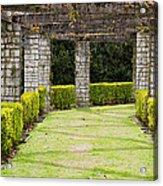 Idyllic Garden Acrylic Print