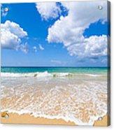 Idyllic Summer Beach Algarve Portugal Acrylic Print
