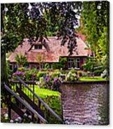 Idyllic Village 14. Venice Of The North Acrylic Print
