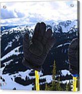 If The Glove Fits Acrylic Print