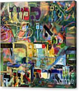 If There Is No Flour There Is No Torah 8 Acrylic Print